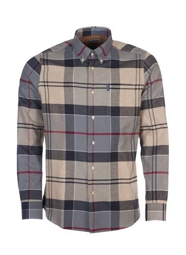 Barbour Tartan 3 Tailored Gömlek Tn53 Dress Tartan Bej
